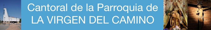 Cantoral de la PARROQUIA de LA VIRGEN DEL CAMINO