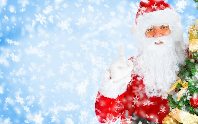 Santa Claus feliz - Happy Santa (1920x1200px)