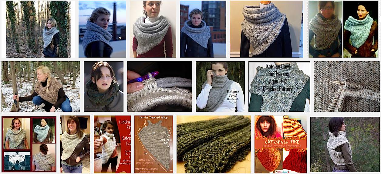 Illuminate Crochet Katniss Cowl Pattern Explosion