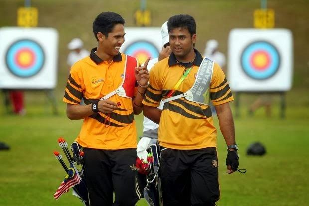 final recurve memanah malaysia