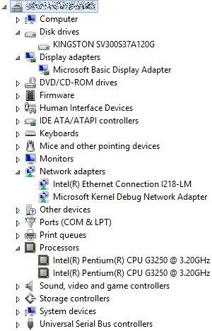 DeskServers Elkhorn Creek Pentium G3250