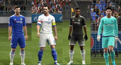 PES 2013 Chelsea GDB 2015-16 by Vulcanzero