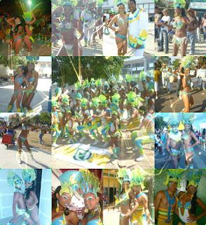 Cuarenta jóvenes cartageneros se tomaron Barranquilla