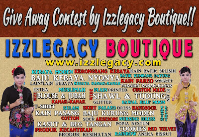 Give Away Contest by Izzlegacy Boutique!!