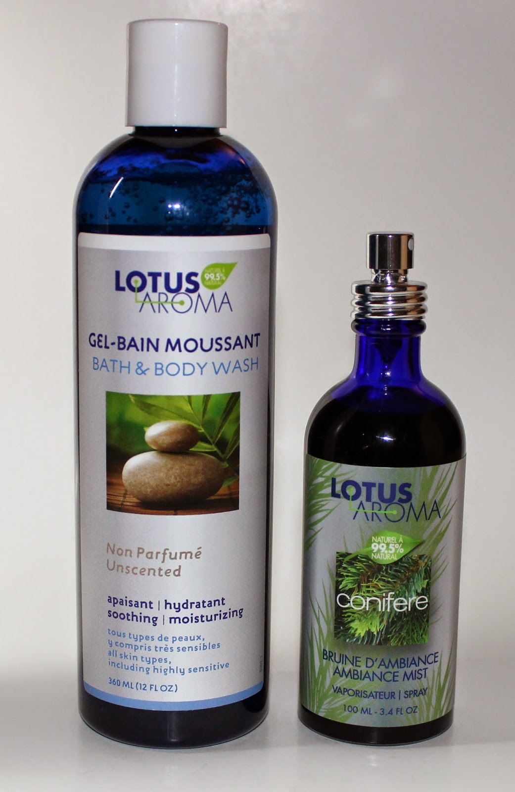 Lotus Aroma Conifere Ambiance Mist & Zen Bath and Bodywash