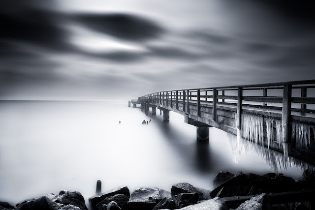 landscape,HDR,long exposure,black,white