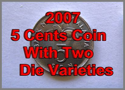 2007 5 Cents