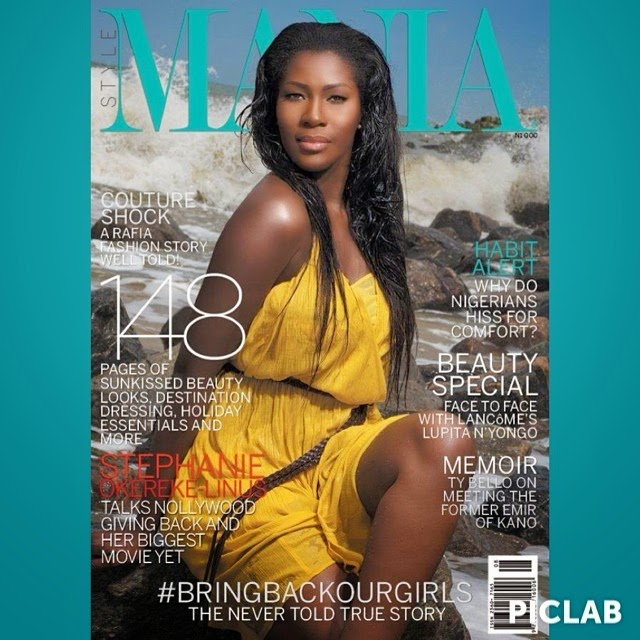 Stephanie Okereke on The Cover of Mania Magazine