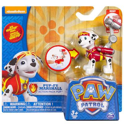 TOYS : JUGUETES - PAW PATROL : La Patrulla Canina Hero Pup - Pup-Fu Marshall : Karate | Figura - Muñeco 2015 | Serie Television Nickelodeon Spin Master - Bizak | A partir de 3 años Comprar en Amazon España & buy Amazon USA