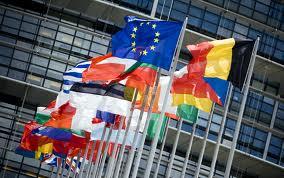 brussels, European Union, Europe, flags, belgium