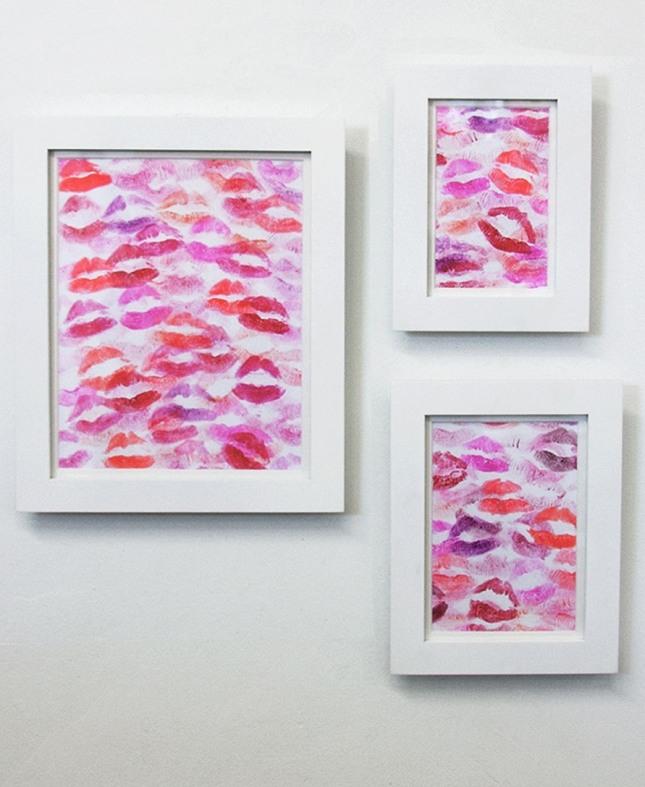 Lip Print Wall Art