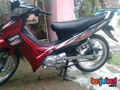 Modifikasi Motor Simple Yamaha Jupiter Z Pelek Jari