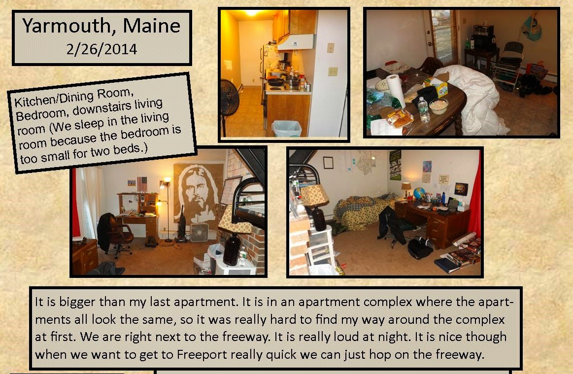 February 26, 2014 Yarmouth Apartment
