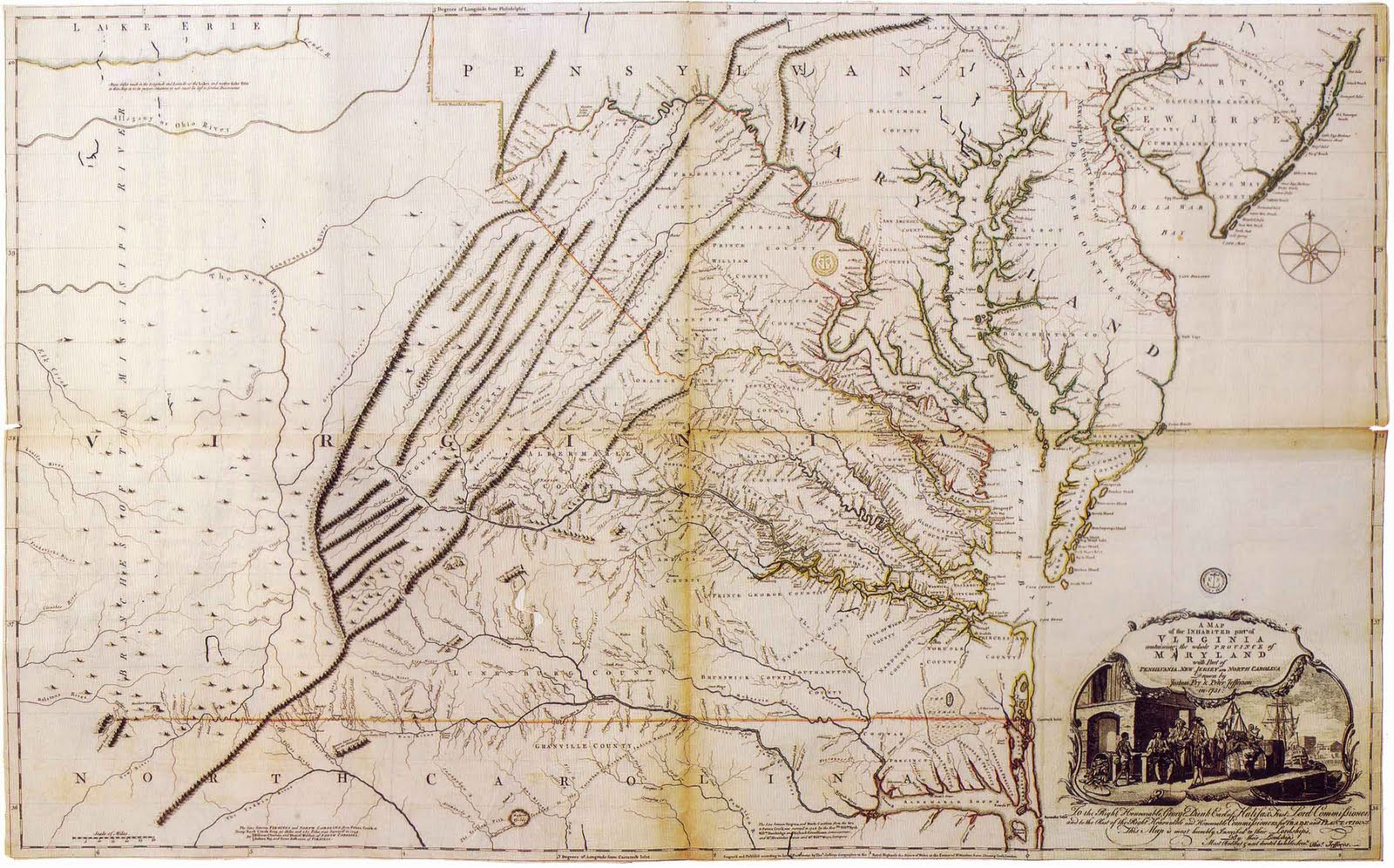Graham Arader Map of the Day A Map of the Inhabited Part of