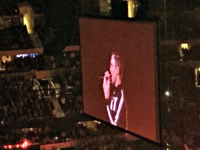 Adam Levine in concert!