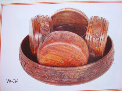 Wood Handicraft Elegant Furniture-016