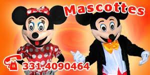 Mascottes di Minni e Topolino