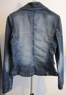 moda estilo blazer jeans corte costura moldes casaco jaqueta