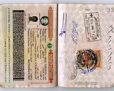 Saudi Arabia Employment visa