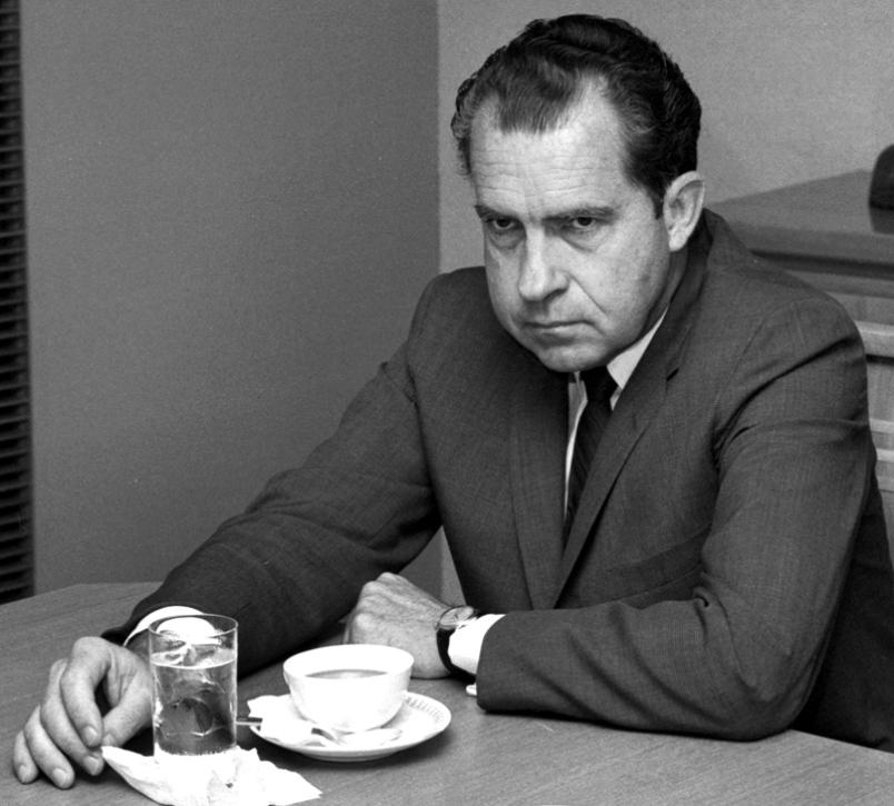 Nixon, not kicked around