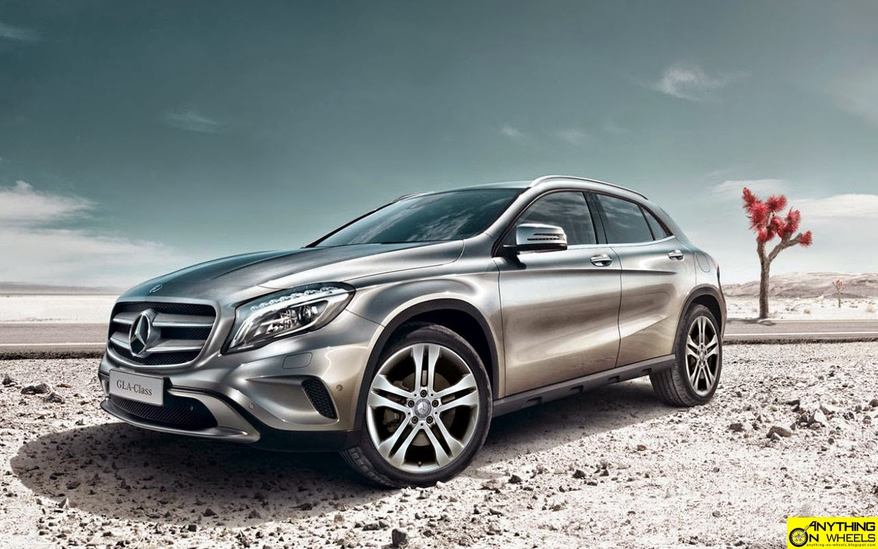 Anything on wheels mercedes benz launches the gla for Mercedes benz gla 2014 price