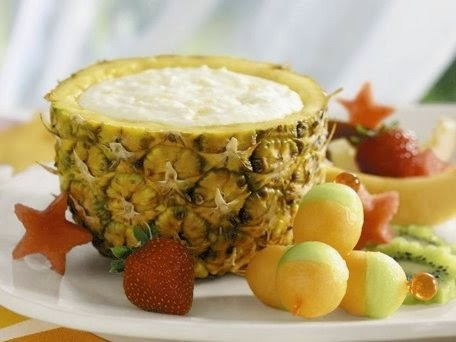 Pineapple Yogurt Fruit dip recipe