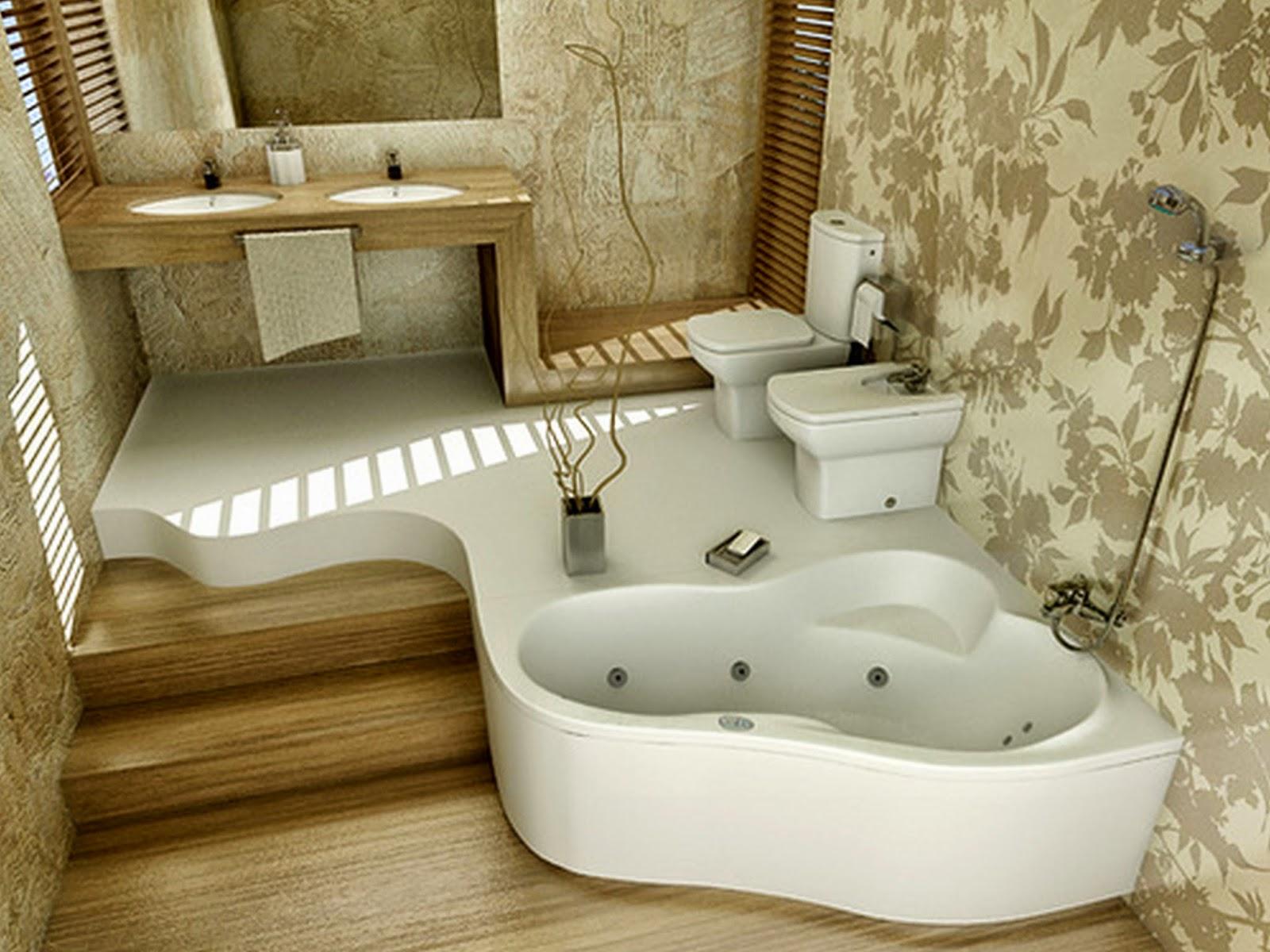 Modern Wallpaper Ideas for Bathroom