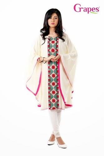 Grapes Lawn Kurta 2014