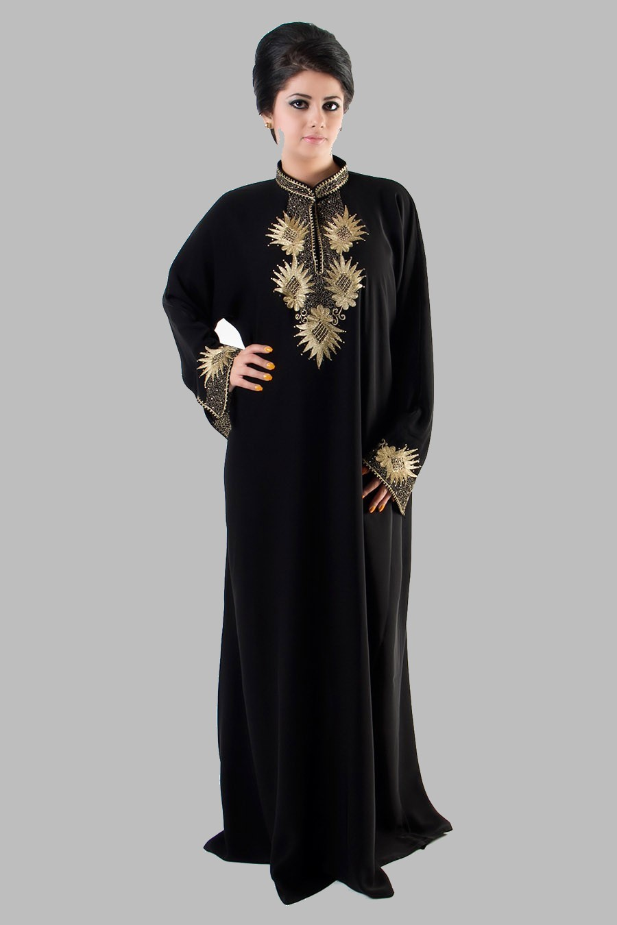 Embroidered Abaya Designs 2013 Islamic Abaya Dress Fashion 2013 14