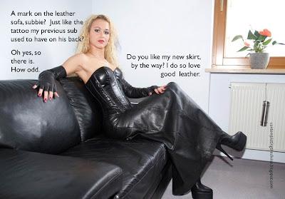 Upholstering fetish