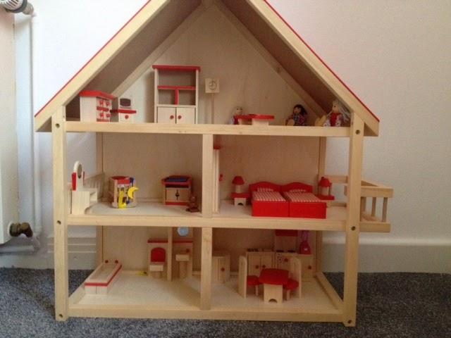 Etagenbett Für Puppenhaus : Zauberschön puppenhaus umgestaltung