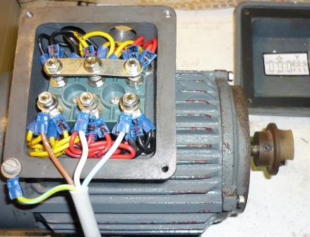 3 3 phase induction motor for Electric motor connection box