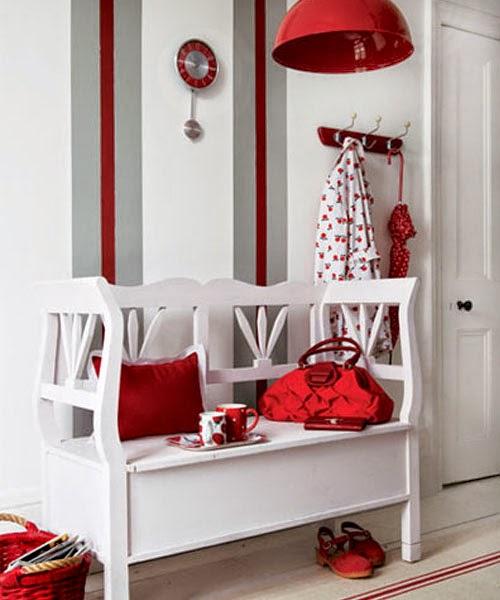 La maison 17 decoraci n interiorismo el recibidor ii mobiliario y otros elementos decorativos - Papel pintado para recibidores ...