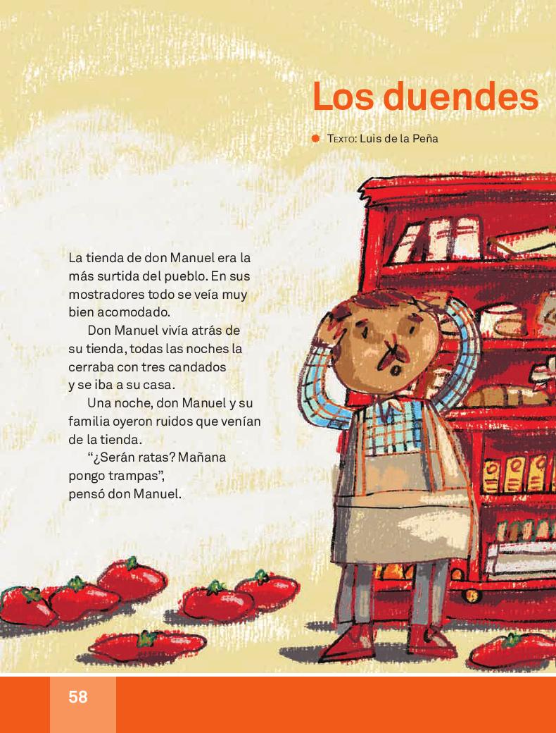 Los duendes de la tienda - Español Lecturas 3ro 2014-2015