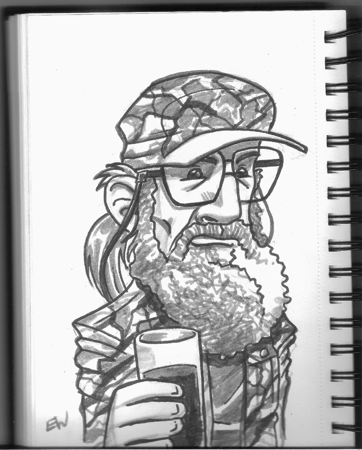 coloring pages of duck dynasty - duck dynasty free colouring pages