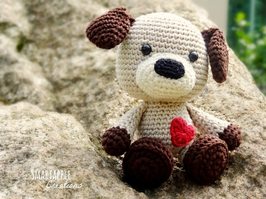 Smartapple Creations - amigurumi and crochet: Amigurumi puppy