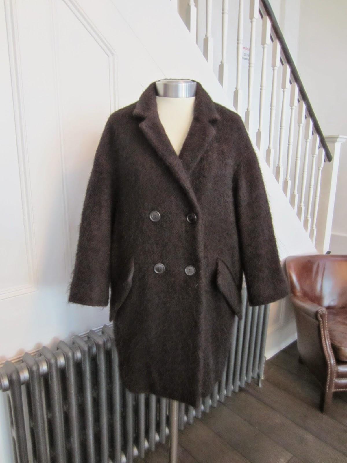 Etoile Isabel Marant Black Wool Coat