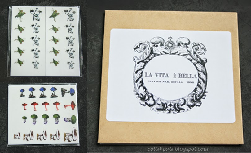 La Vita è Bella 1986 Nail Decal Review
