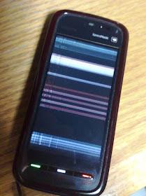 Cara Menghilangkan Garis Hitam LCD Handphone