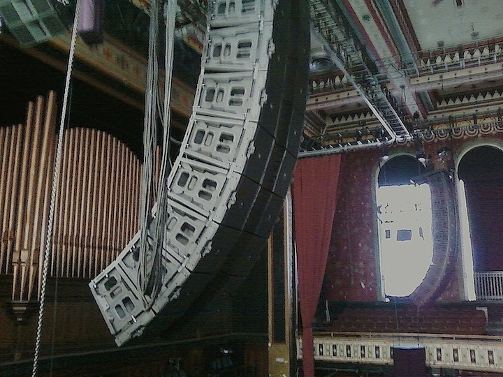 Atlanta Tabernacle - Sound Image - JBL VTX Line Arrays