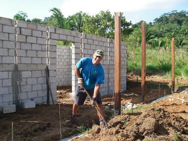 Au travail à la ferme agricole Guate 2009