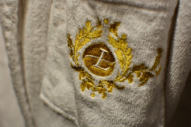 Langham hotel bathrobes