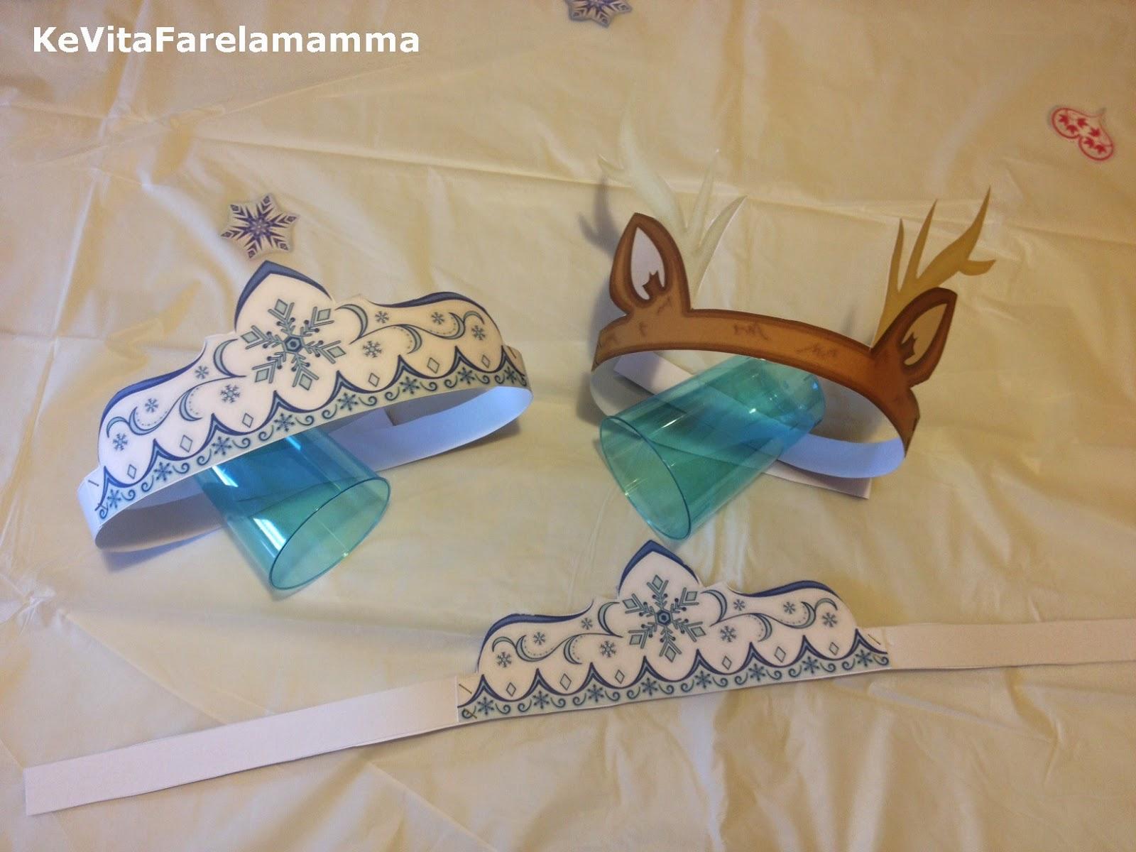 Compleanno A Tema Frozen E Coroncine Di Follia Kevitafarelamamma
