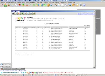 NeXT ERP NeXT Reports Gerador de Relatórios Dinâmico