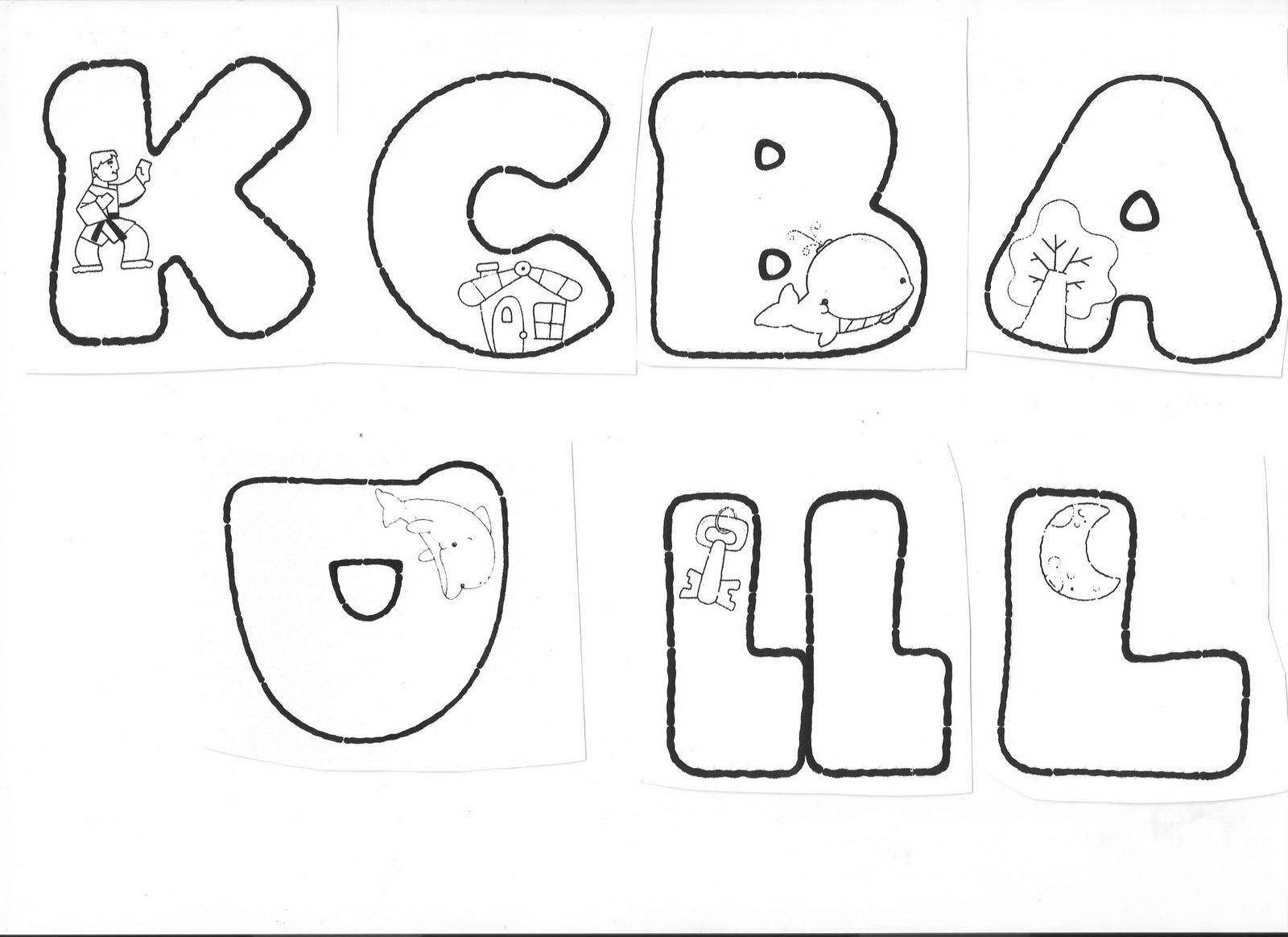 Moldes en letras de foami - Imagui