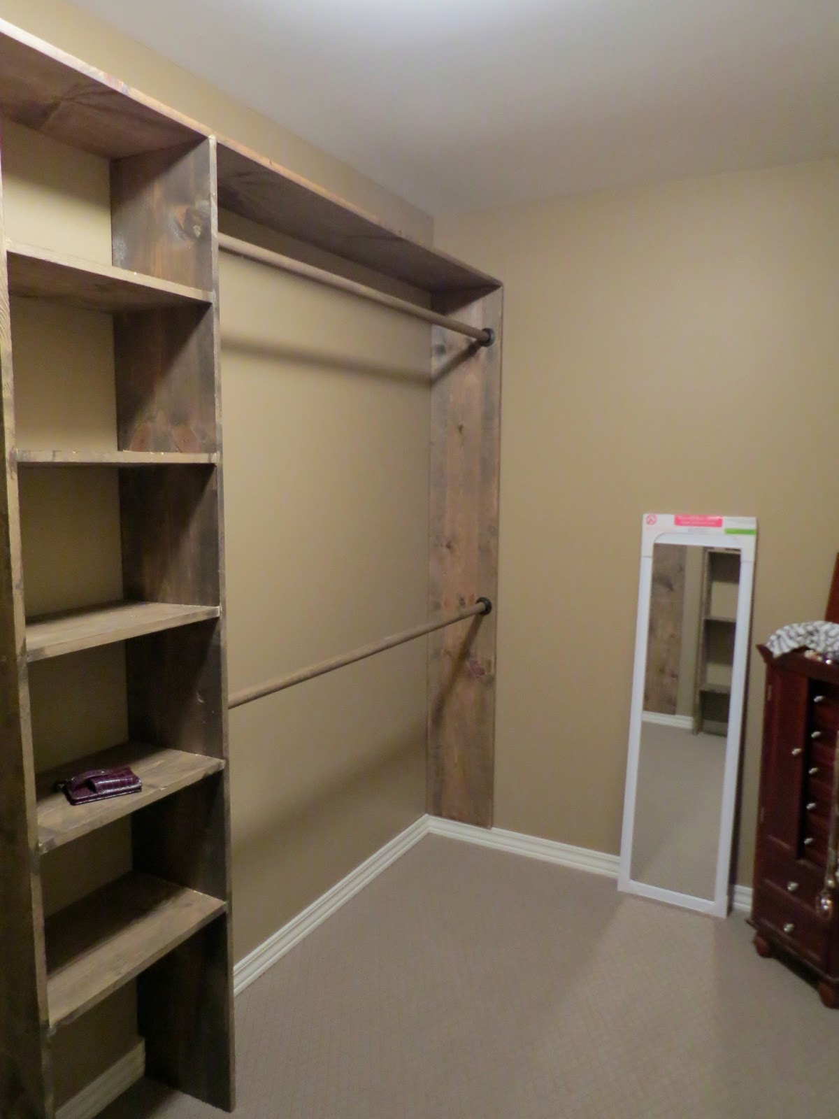 Let 39 s just build a house walk in closets no more living Design your bedroom from scratch