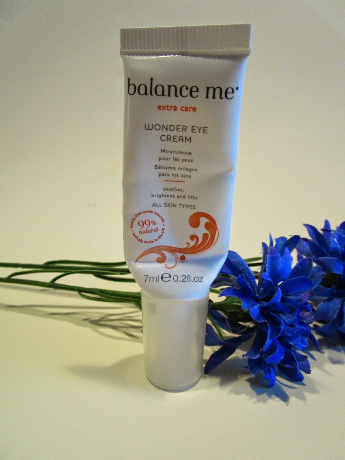 contorno de ojos Wonder Eye Cream de Balance Me