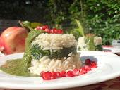 Mini timballini di riso W l'Italia