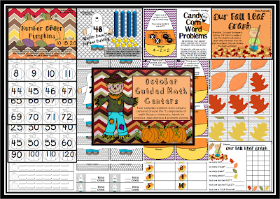 http://www.teacherspayteachers.com/Product/November-Guided-Math-Centers-954078