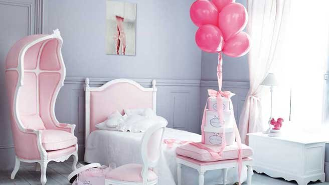 Conseils d co et relooking 17 chambres impressionnantes for Chambre fille style romantique